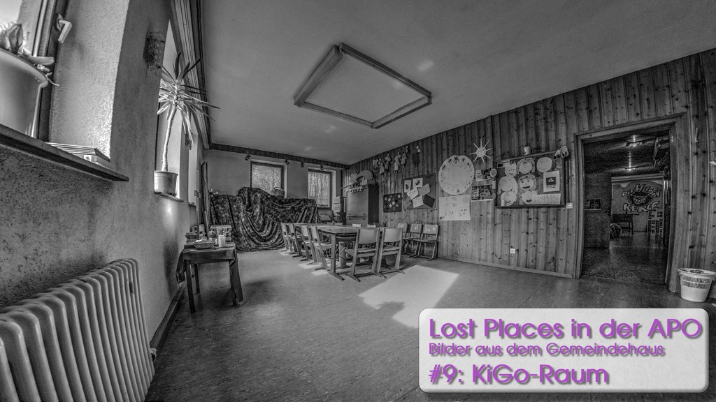 Lost Places 9: Der Kindergottesdienstraum
