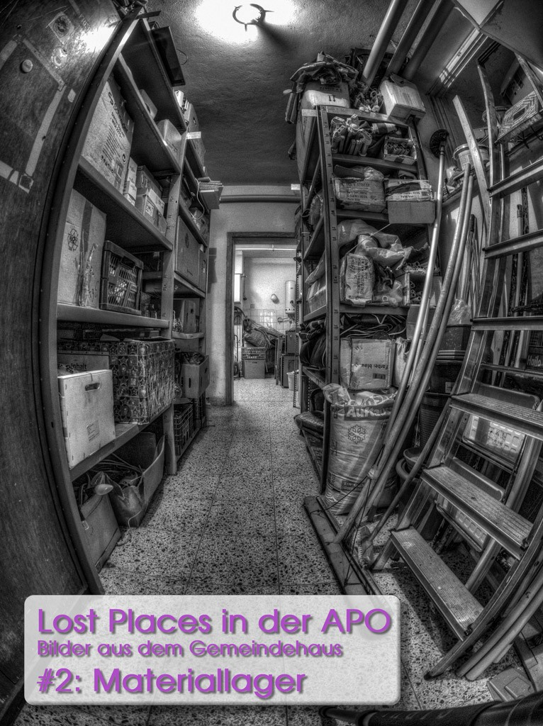 Lost Places 2: Das Materiallager