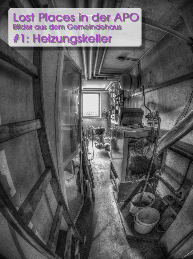 Lost Places 1: Der Heizungskeller