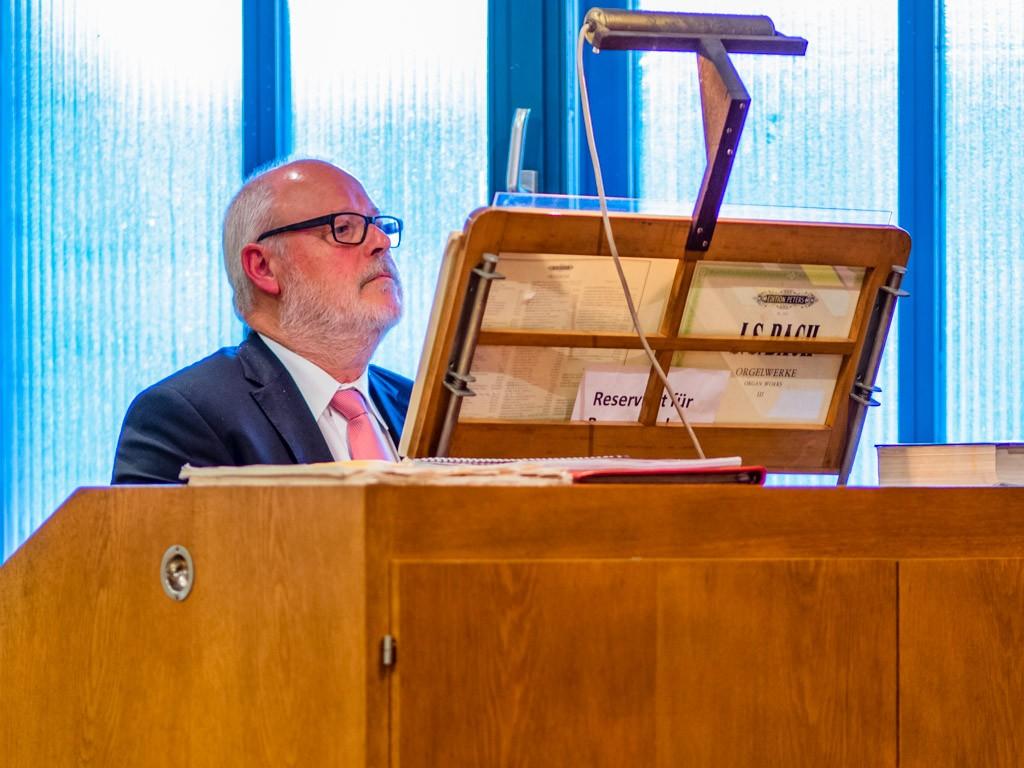 Dietmar Jansen sind den Gottesdienstbesuchern bestens bekannt.