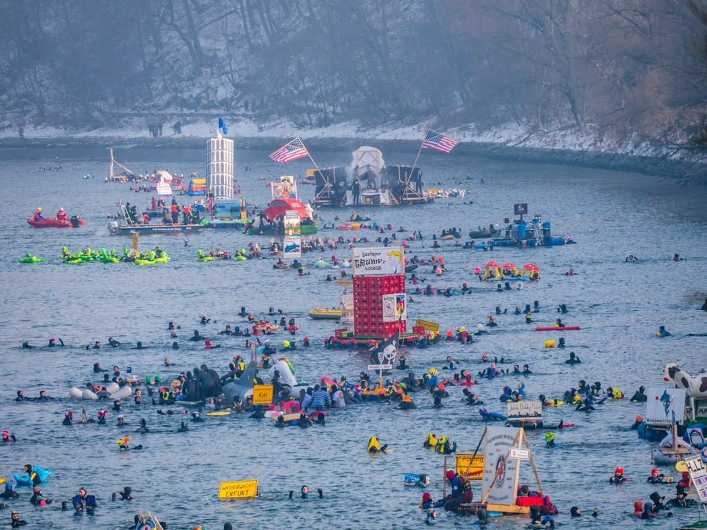 Die Donau füllt sich