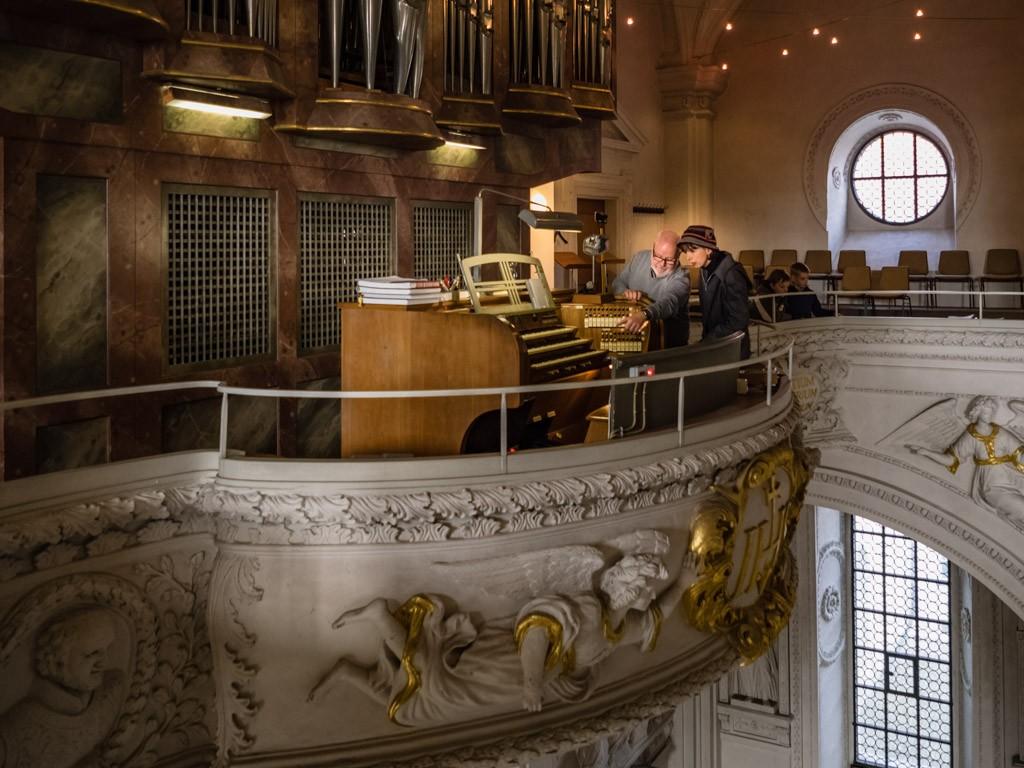 Einweisung in die Orgel