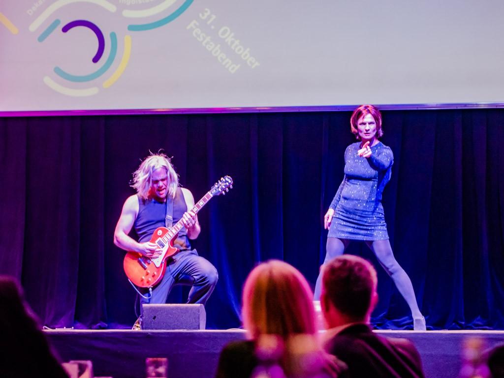 Olivia Wendt und Michael Amelung vom Stadttheater Ingolstadt